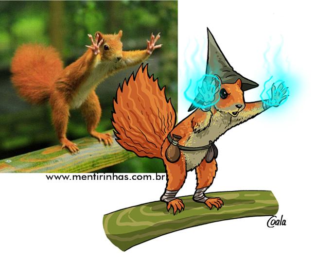 esquilo mágicoOK